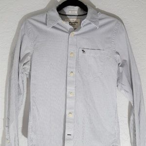 Abercrombie & Fitch pin striped button down